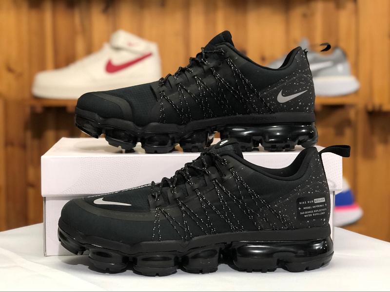 best website d2804 d35d9 Nike Air VaporMax Run Utility Black Anthracite AQ8810-001 Men's Running  Shoes AQ8810-001