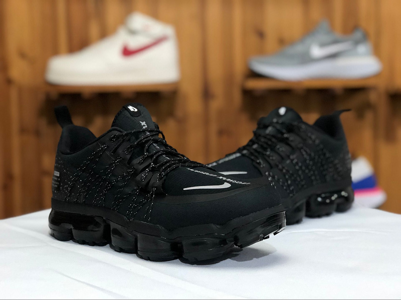best website 86962 d82de Nike Air VaporMax Run Utility Black Anthracite AQ8810-001 Men's Running  Shoes AQ8810-001