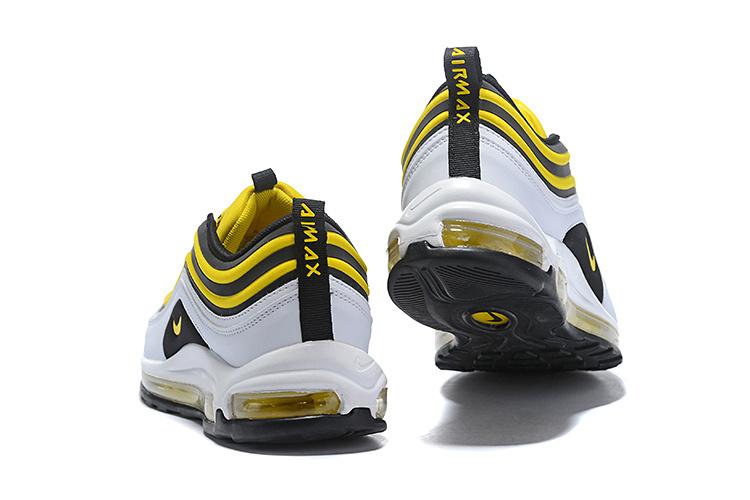 aea132d9c934 Nike Air Max 97 Ultra SE White Black Yellow Men s Casual Shoes NIKE ...