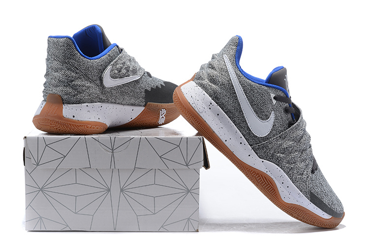 1e01b340e33 Nike Kyrie 4 Low  Uncle Drew  Atmosphere Grey White AO8979-005 Men s ...