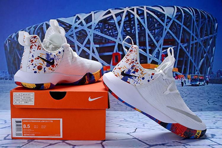 3fa9f9a93124 Nike Zoom Shift 2 EP II White Multi-Color Men s Basketball Shoes ...