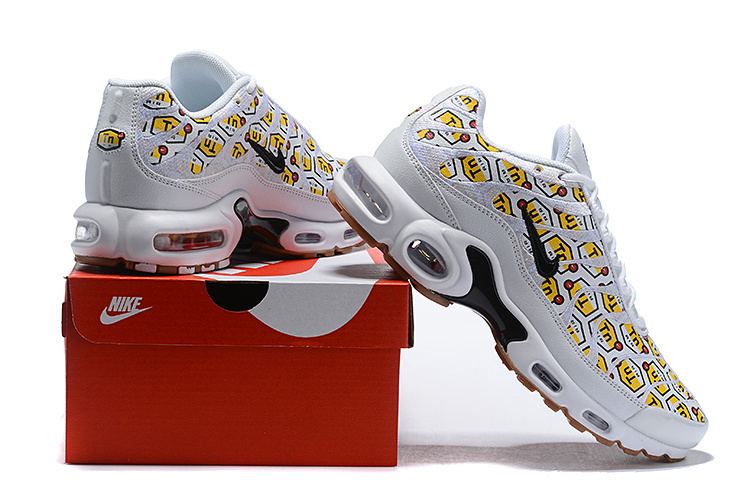 85bfd67f6e3 Nike Air Max Plus All Over Print Black 903827-002 Mens Running Shoes  903827-002a