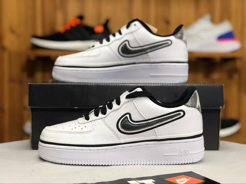 new style 856d0 8ffe7 Nike Air Force 1 Low Spurs White/Black/White | NBA Pack AJ7748-100 Women's  Men's Sneakers AJ7748-100