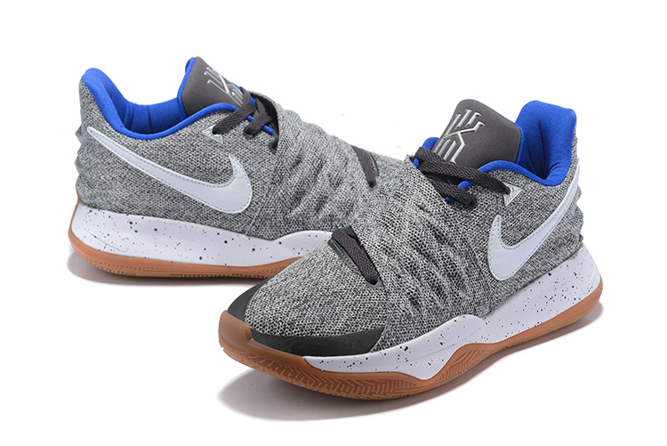 timeless design ab408 bf5ca Nike Kyrie 4 Low 'Uncle Drew' Atmosphere Grey/White AO8979-005 Men's  Basketball Shoes AO8979-005