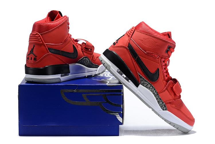 689596751a4d2 Air Jordan Legacy 312 Varsity Red/White/Black - AV3922 601 Men's Basketball  Shoes AV3922-601