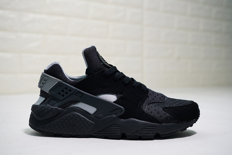 697b7a5b8d26 Nike Air Huarache Run SE Raiders Black   Wolf Grey 852628-001 Men s Casual  Shoes