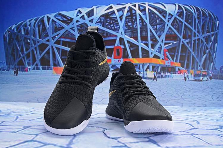 a4302d95e58ac Nike LeBron Witness III Black/Gold Men's Basketball Shoes NIKE ...