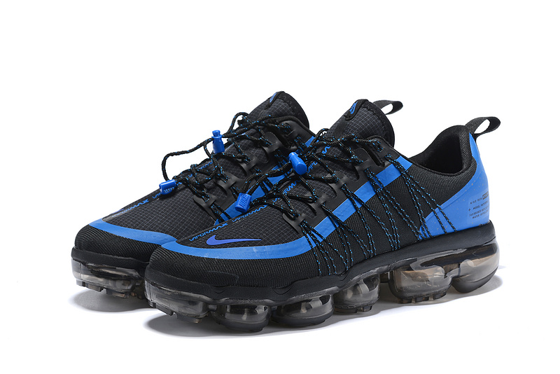 huge discount cf1e6 1d344 Nike Air VaporMax Run FlyKnit Utility Game Royal Blue Black Men's Running  Shoes NIKE-ST004698