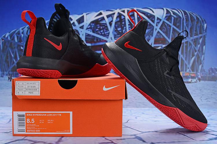 f5b14167eb45 Nike Zoom Shift 2 EP II Black Red Men s Basketball Shoes NIKE ...