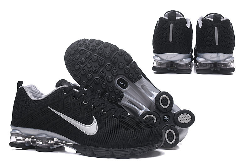 size 40 bc3f8 47a42 Nike Air Shox Flyknit Black ...