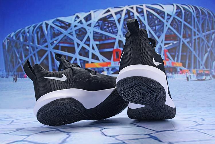 85b9e19ac05c Nike Zoom Shift 2 EP II White Black Men s Basketball Shoes NIKE ...