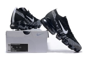 d2f952a33d2d Nike Air Vapormax Flyknit 2019 Black Grey White Men s Running Shoes