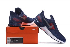 3f4d398309f4f Men s Casual Shoes Nike Air Zoom Pegasus 35 Navy Blue Silver Red White  AQ2792 006