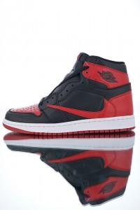 724ec1862dba7c Nike Air Jordan 1 Retro Banned 555088-013 Mens Athletic Basketball Shoes