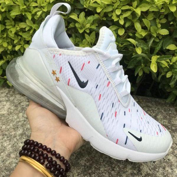 Nike Air Max 270 White Multi-Color Women s Men s Casual Shoes NIKE-ST005246   14fae69c7