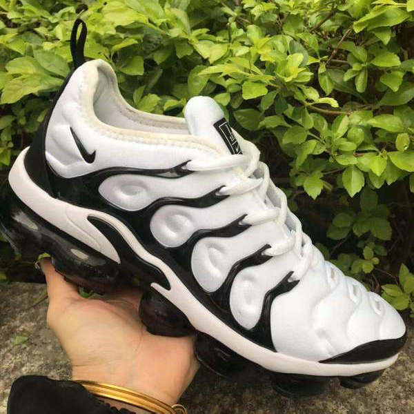info for cf8d4 e13a2 Nike Air VaporMax Plus TN Black White Men's Women's Running Shoes  NIKE-ST005160