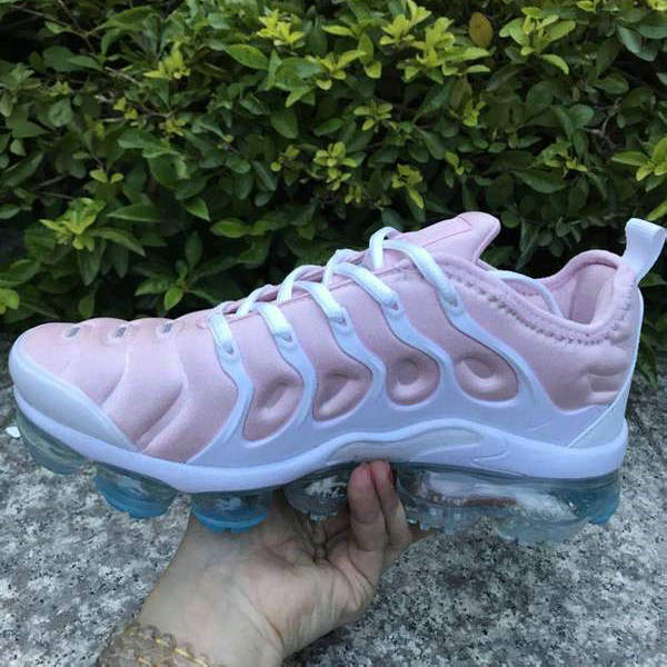 new arrival 7805e 371f8 Nike Air VaporMax Plus TN Pink White Women's Running Shoes NIKE-ST005155