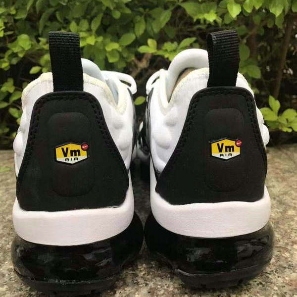 info for 28656 cf6ba Nike Air VaporMax Plus TN Black White Men's Women's Running Shoes  NIKE-ST005160