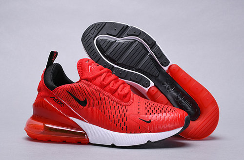 release date c738a 5038b Nike Air Max 270 habanero red black-white AH8050 601 Women s Men s Casual  Shoes
