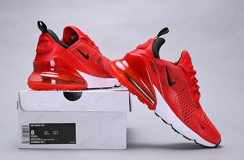 7900709c0f Nike Air Max 270 habanero red/black-white AH8050 601 Women's Men's ...