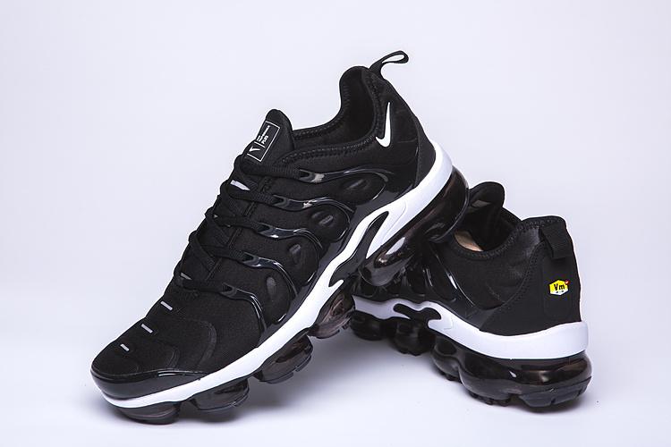 separation shoes 13b7b db3f1 Nike Air VaporMax Plus TN Black White Men's Women's Running Shoes  NIKE-ST005065