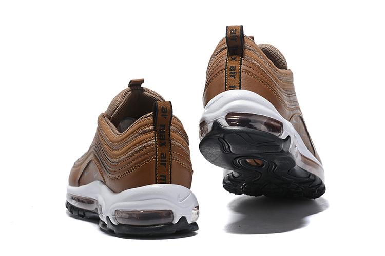 Nike Air Max 97 Premium Animal BlackBlackSummit WhiteCool Grey 917646 005 Women's Men's Footwear Running Shoe