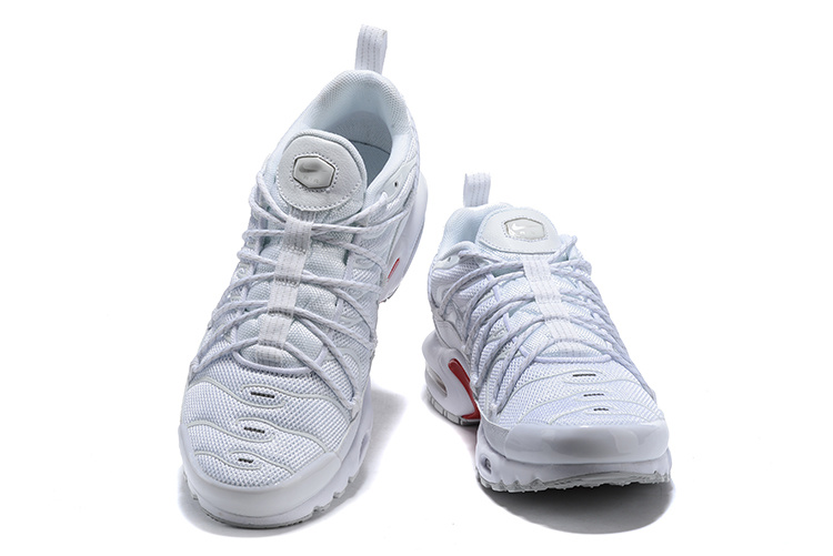 huge discount b3340 4f75f Men's Nike Air Max Plus champagnepapi White Red Winter Running Shoes  NIKE-ST005118
