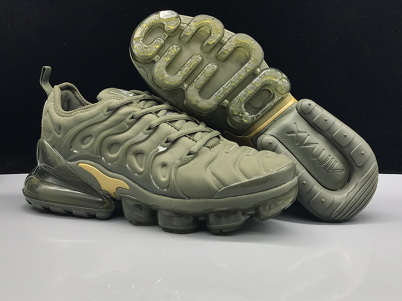 700c3567482 Nike Air Max 270 TN Plus MoonRock Olive Green Gold Men s Running ...