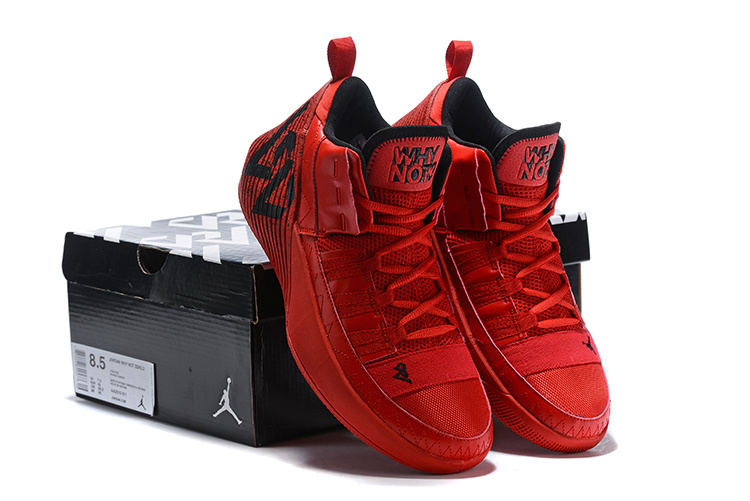 factory authentic b9b9e 3aafe Air Jordan Why Not Zer0. 2 October Red Black AA2510-011 Men s Basketball  Shoes