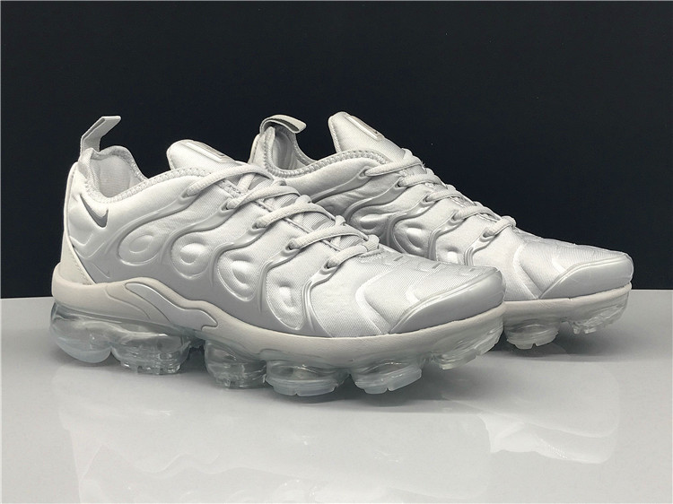 big sale 6f84a 95ae5 Nike Air Vapormax Plus TN Triple Grey Men's Women's Running Shoes  NIKE-ST005198