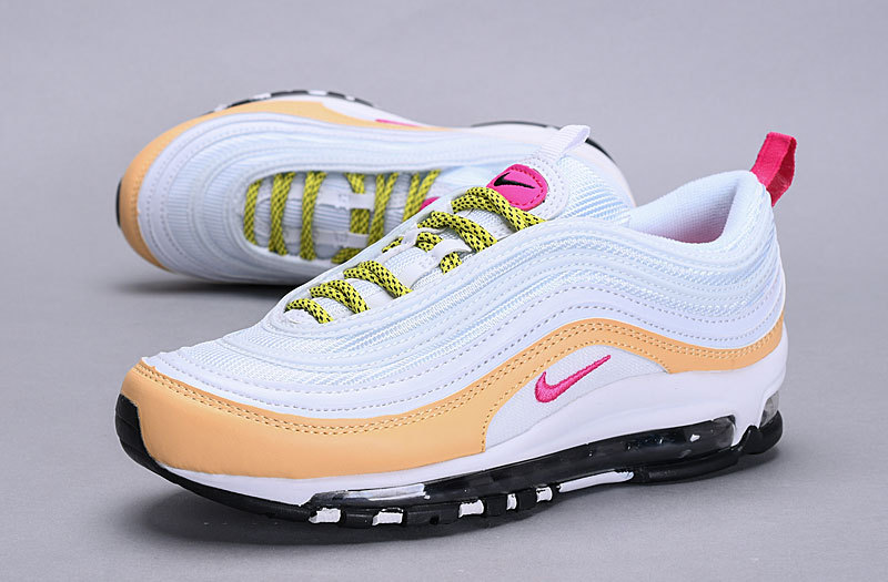 the latest b8c31 37499 Nike Air Max 97 light bone/deadly pink 921733 004 Women's Casual Shoes  921733-004