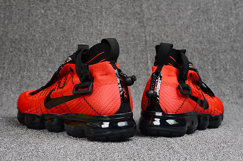 2a56965fe4a Nike Air Vapormax Flyknit Zipper October Red Black 899473 008 Men s Running  Shoes