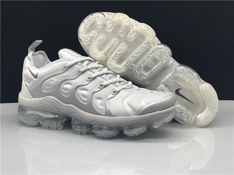 4647cf574d Nike Air Vapormax Plus TN Triple Grey Men's Women's Running Shoes ...