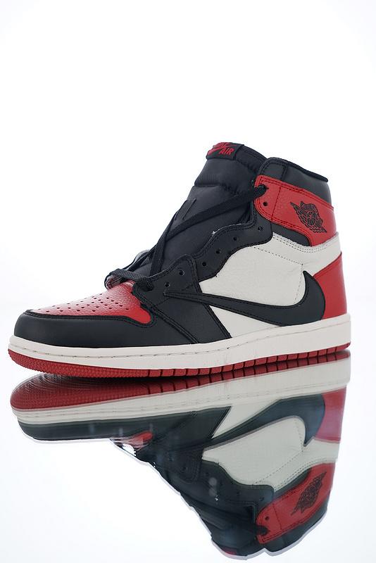 uk availability 23e73 1daef Nike Air Jordan 1 Retro OG Bred Toe 555088-610 Mens Athletic Basketball  Shoes 555088-610Q