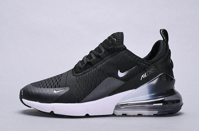 864c71bd6d Nike Air Max 270 Black White Spectrum AH8050-403 Women's Men's Casual Shoes