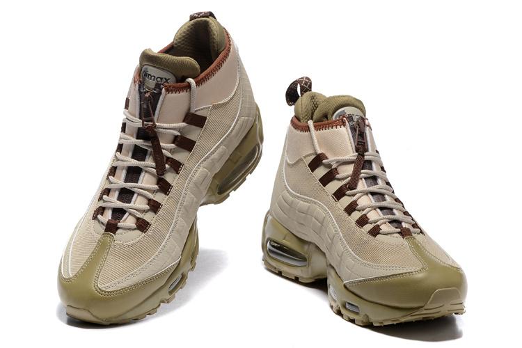 buy online 45c6a 08836 Nike Air Max 95 Winter Sneakerboot Khaki Matte Olive 806809 200 Men's Snow  Boots Sneakers 806809-200