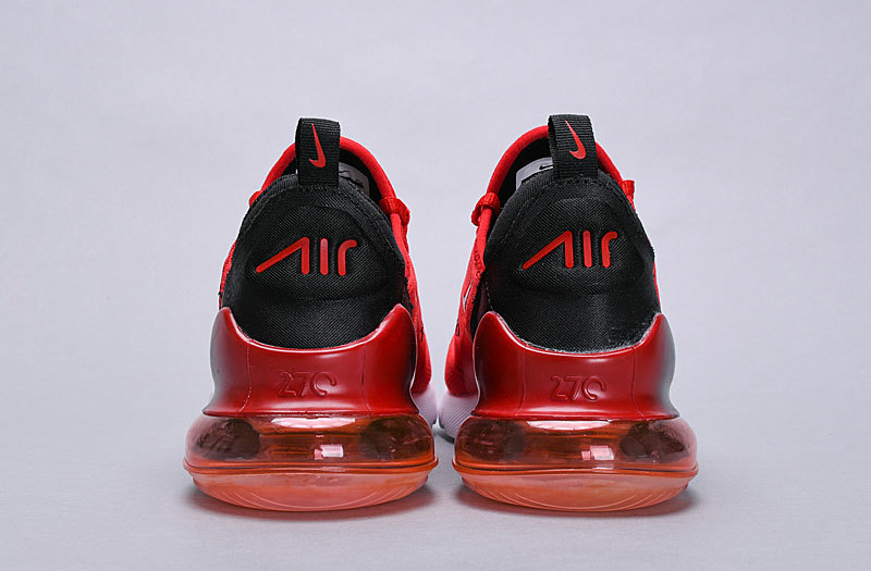 big sale 5fbc1 dda56 Nike Air Max 270 habanero red/black-white Spectrum AH8050 601 Women's Men's  Casual Shoes AH8050-601A