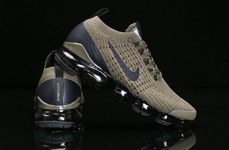best loved 9066d 684e3 Nike Air Vapormax Flyknit 2019 Olive Green Black AJ6900-300 Women's Men's  Running Shoes AJ6900-300