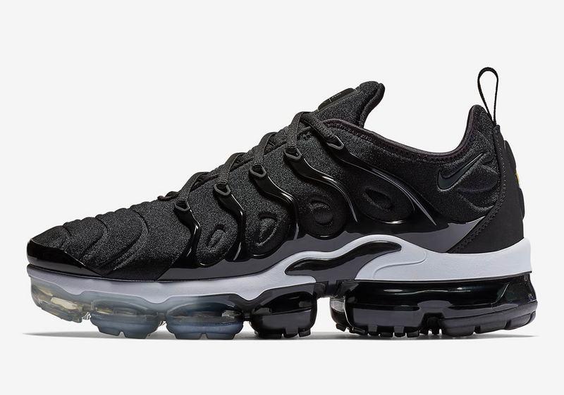 new product 5e99a ef7d8 Nike Air VaporMax Plus Black/White - 924453 011 Men's Running Shoes ...