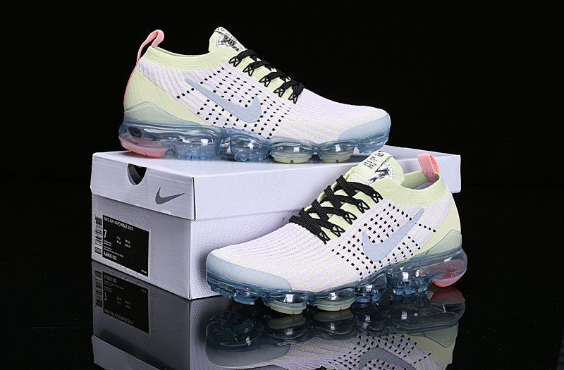size 40 9e605 a3ffc Nike Air Vapormax Flyknit 2019 Light Purple Yellow White AJ6900-700 Women's  Men's Running Shoes AJ6900-700