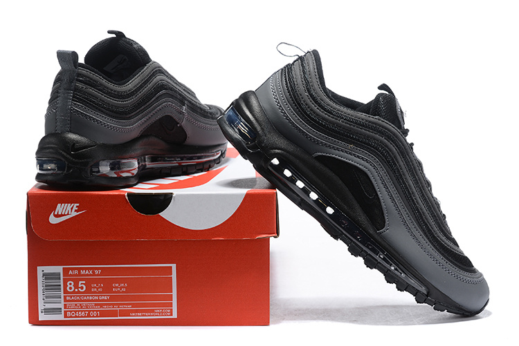 "Men's Nike Air Max 97 ""Tiger Camo"" Black AQ4132 001"