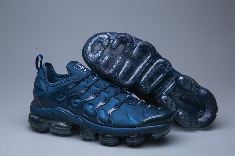 hot sale online a26dd 349c1 Nike Air VaporMax Plus TN Navy Blue Men's Running Shoes NIKE-ST005071