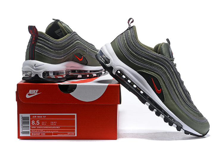 timeless design 73175 97b55 Men s Nike Air Max 97 Sequoia ...