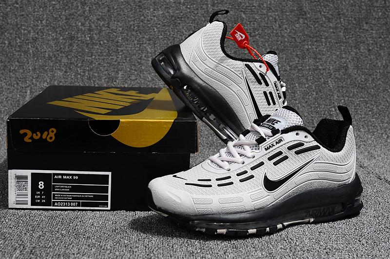 9e4f4a8f68f5 Men s Running Shoes Nike Air Max 99 Kpu Wolf Grey Black AO2313 007 ...