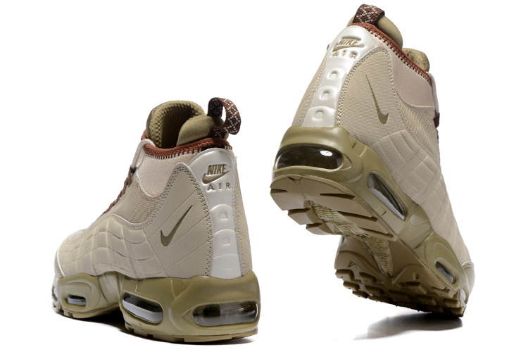 36f9e868d4a53 Nike Air Max 95 Winter Sneakerboot Khaki Matte Olive 806809 200 Men s Snow  Boots Sneakers