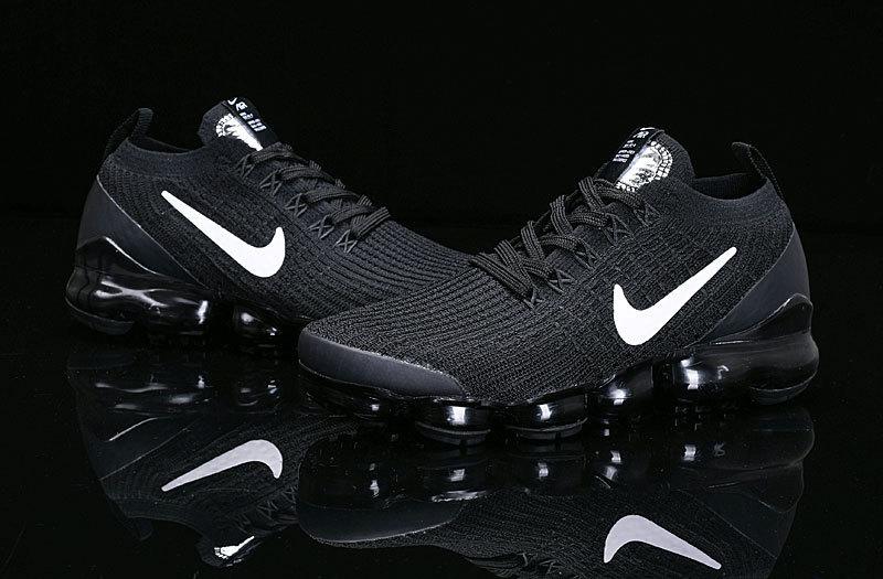 brand new e20f1 2df22 Nike Air Vapormax Flyknit 2019 Triple Black AJ6900-004 Women's Men's  Running Shoes AJ6900-004