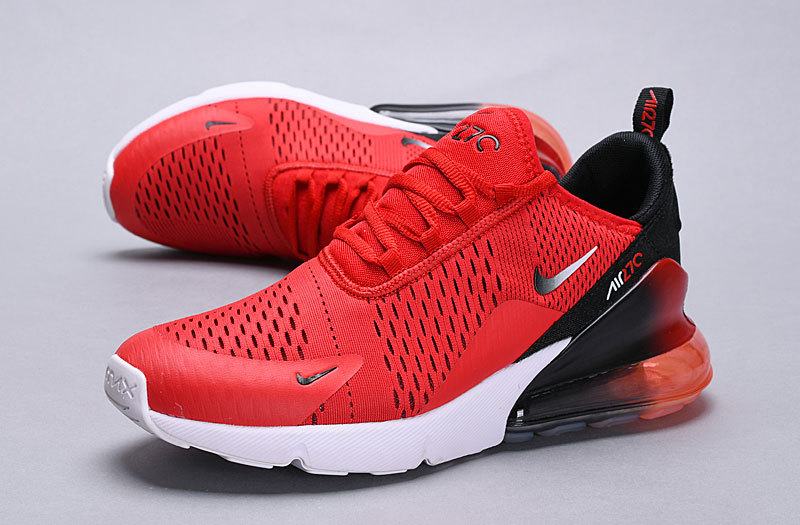 big sale 02194 67206 Nike Air Max 270 habanero red/black-white Spectrum AH8050 601 Women's Men's  Casual Shoes AH8050-601A