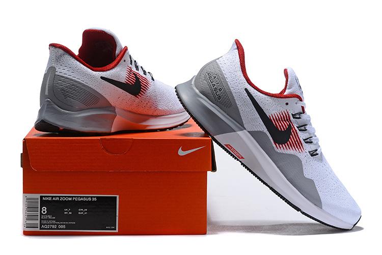 79b789985dcc Men s Casual Shoes Nike Air Zoom Pegasus 35 Grey White Red Black ...