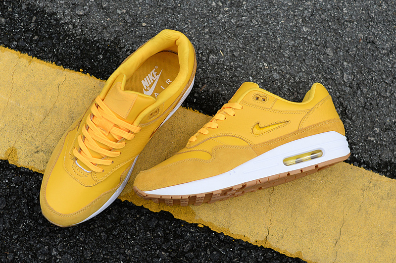 separation shoes 8dc1c b7acf Nike Air Max 87 Bright Yellow Women s Men s Casual Shoes Sneakers