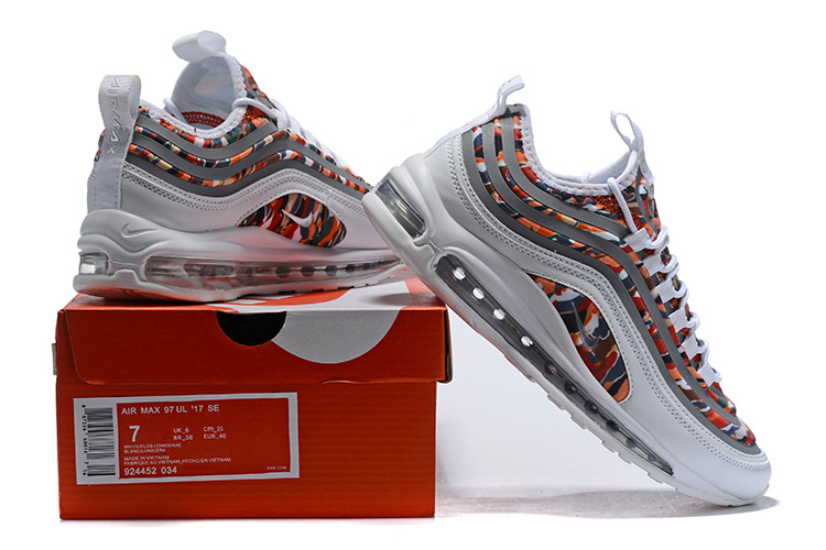separation shoes d0f34 845a2 Men's Nike Air Max 97 Ultra SE Multi-Color 924452-034 Casual Shoes Sneakers  924452-034